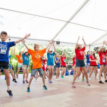 Дети из Алтайского края впервые приняли участие в Диаспартакиаде.