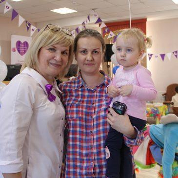 17 ноября в нашей больнице прошел праздник, посвященный Международному дню недоношенного ребенка