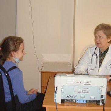 Специалисты краевой детской больницы курируют педиатрическую службу края.