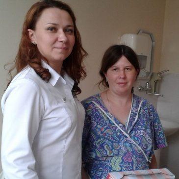 В День святого Валентина в акушерском стационаре Алтайского краевого клинического центра охраны материнства и детства родилось в два раза больше детей, чем обычно