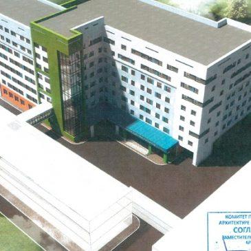Проект строительства нового корпуса Центра охраны материнства и детства прошел госэкспертизу